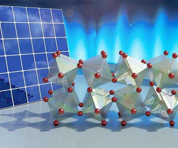 Twisting, flexible crystals key to solar energy production