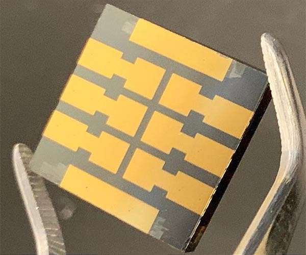 'Molecular glue' makes perovskite solar cells dramatically more reliable over time