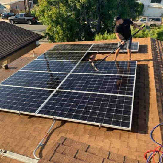 Does cleaning your solar panels make a difference?
