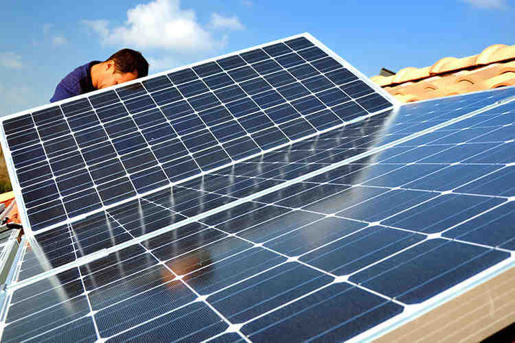 Can you get a free roof with solar panels?