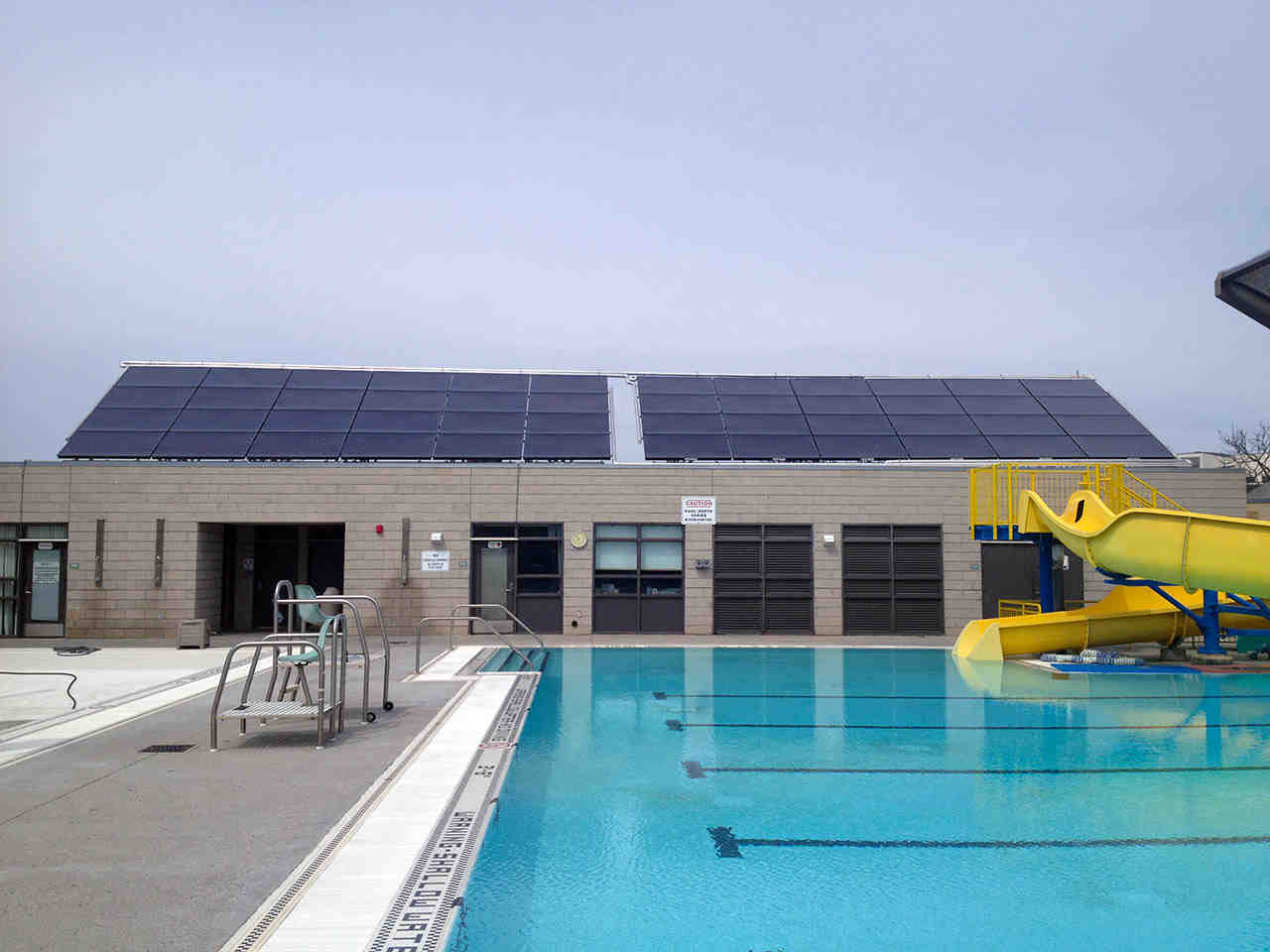 Does solar pool heating work in winter?