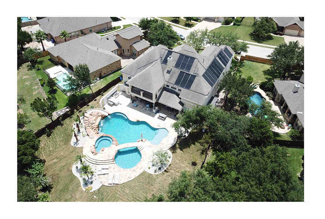 How do you repair a leaking pool solar panel?