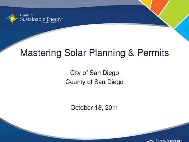 How long do solar permits take?