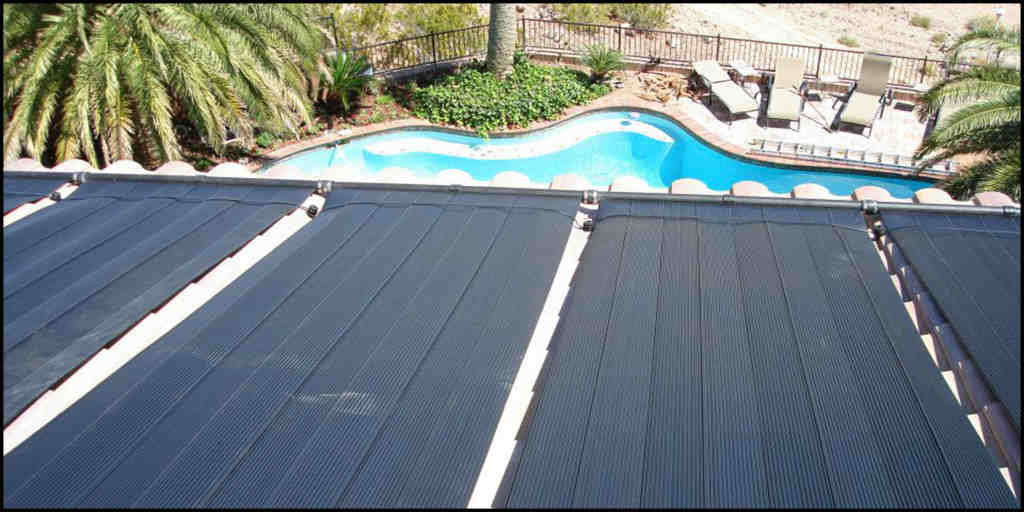 How many solar panels does it take to heat a pool?