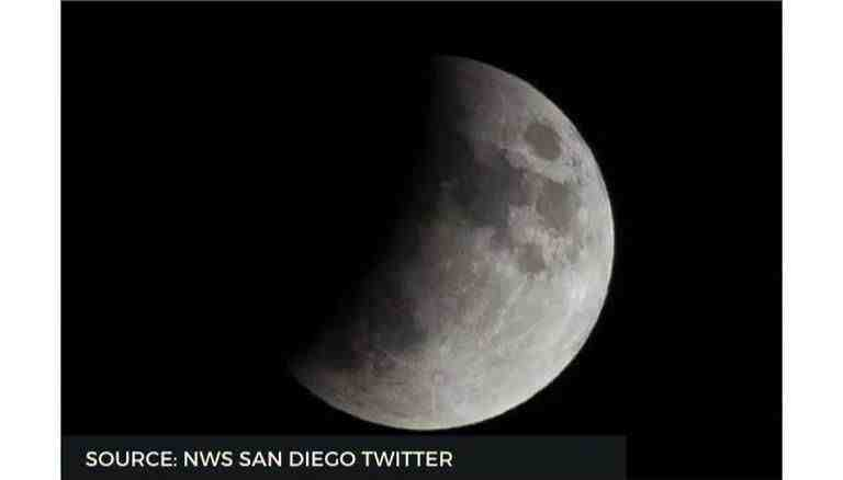 What Time is the eclipse in California?