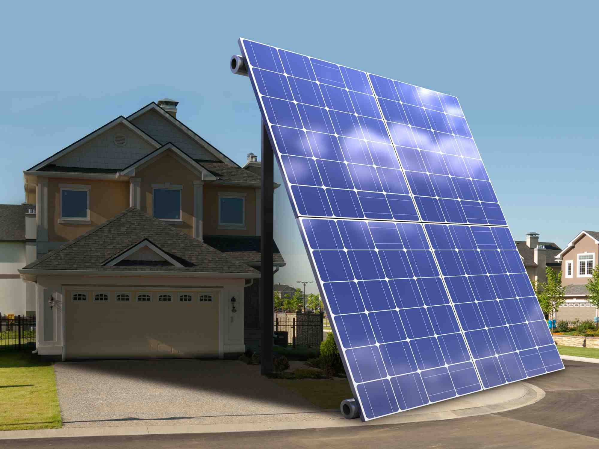 What is the solar power?
