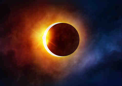 What time of day is the solar eclipse 2020?
