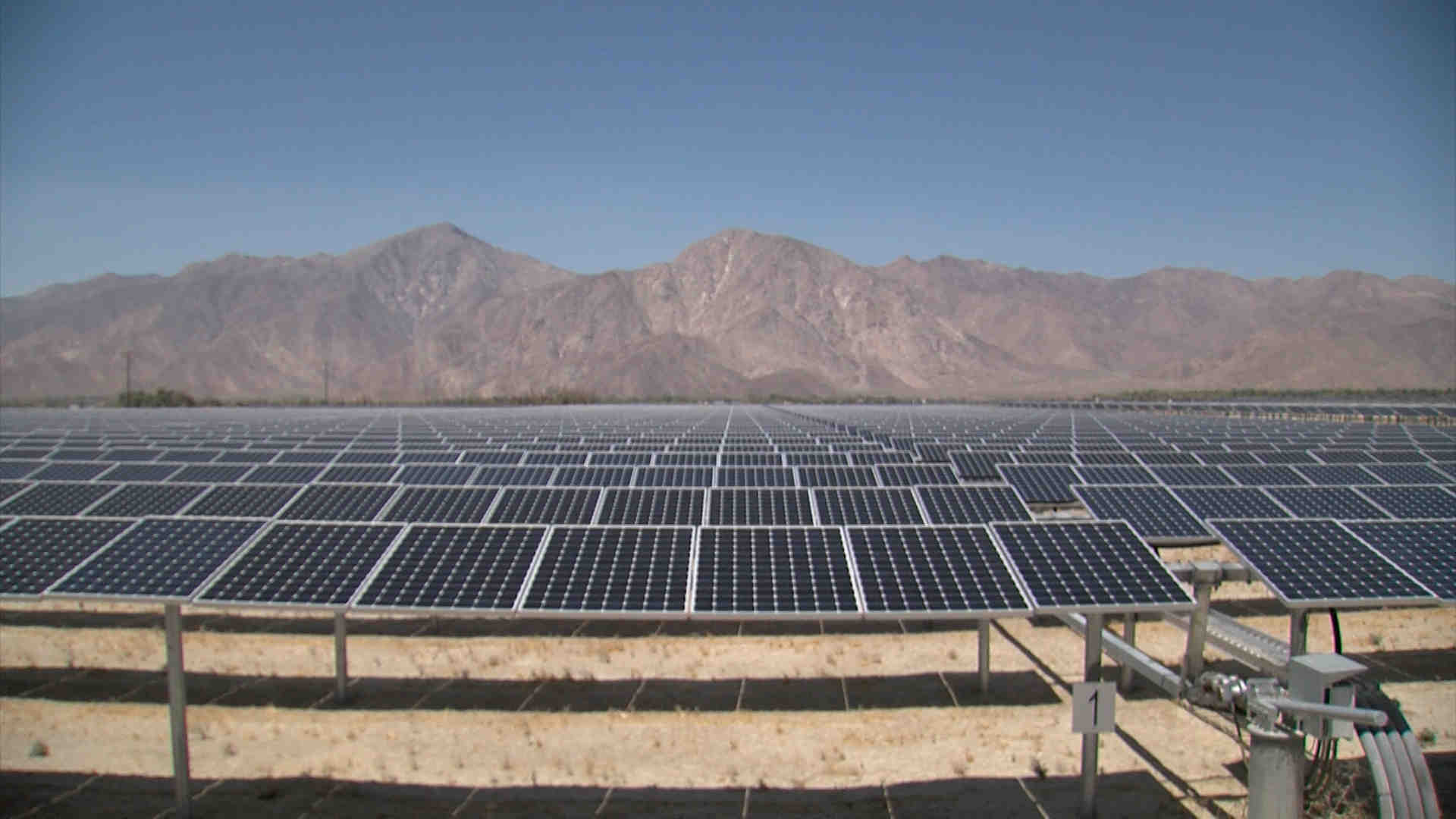 What will a 100-watt solar panel run?