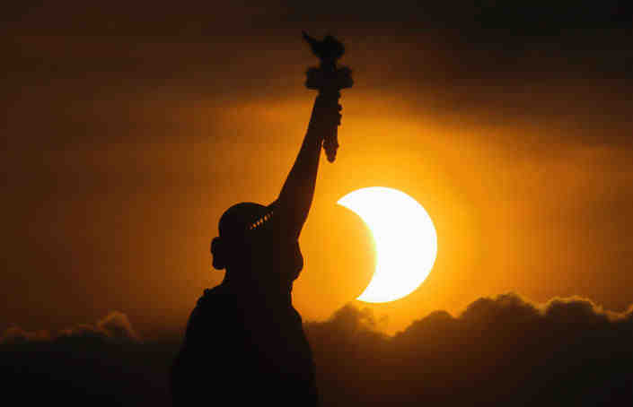 Where is the best place to see the solar eclipse 2021?