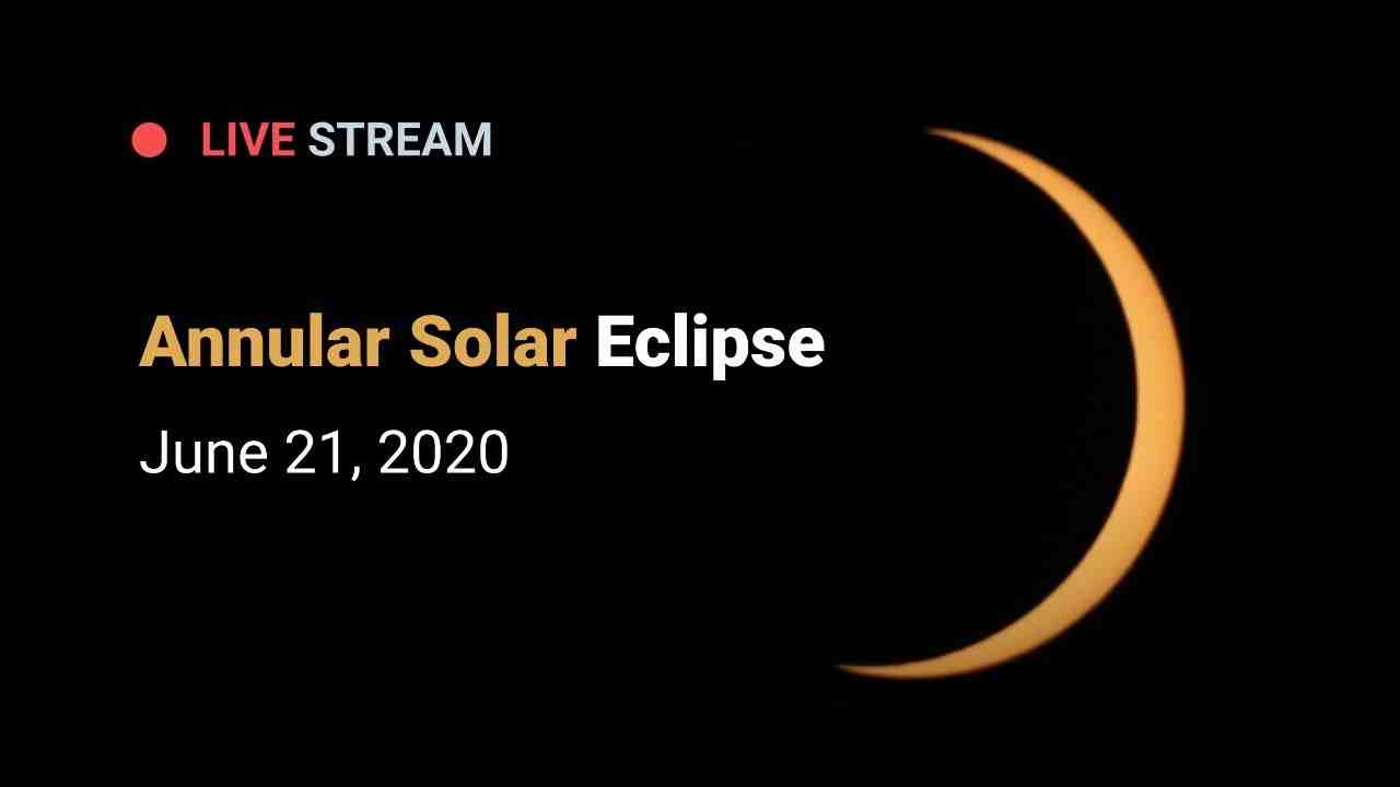Where on earth is the solar eclipse in 2020?