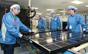 Who is the leading solar company?