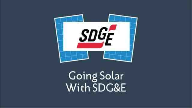 How long does it take Sdge to approve solar?