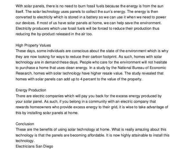 Solar electrician jobs san diego