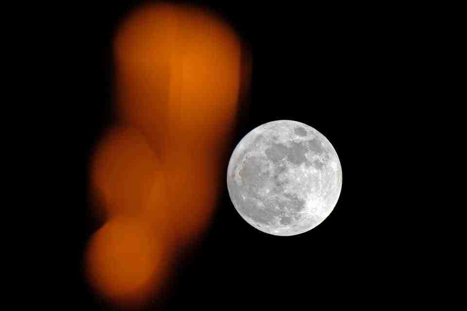 What moon will appear today?
